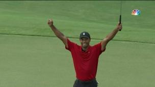 Tiger signe une 1re victoire depuis 2013