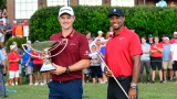 Justin Rose et Tiger Woods