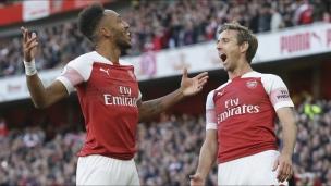 Arsenal 2 - Everton 0
