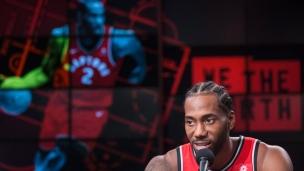 Leonard heureux de jouer à Toronto