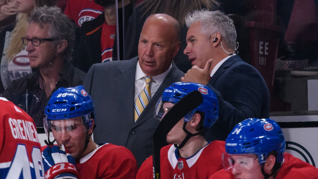 Claude Julien et Dominique Ducharme