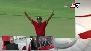 Un exploit historique de Tiger Woods