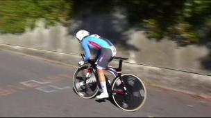 Kirchmann au pied du podium en Autriche