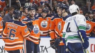 Canucks 0 - Oilers 6