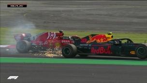 Vettel est un peu trop gourmand vis-à-vis de Verstappen!