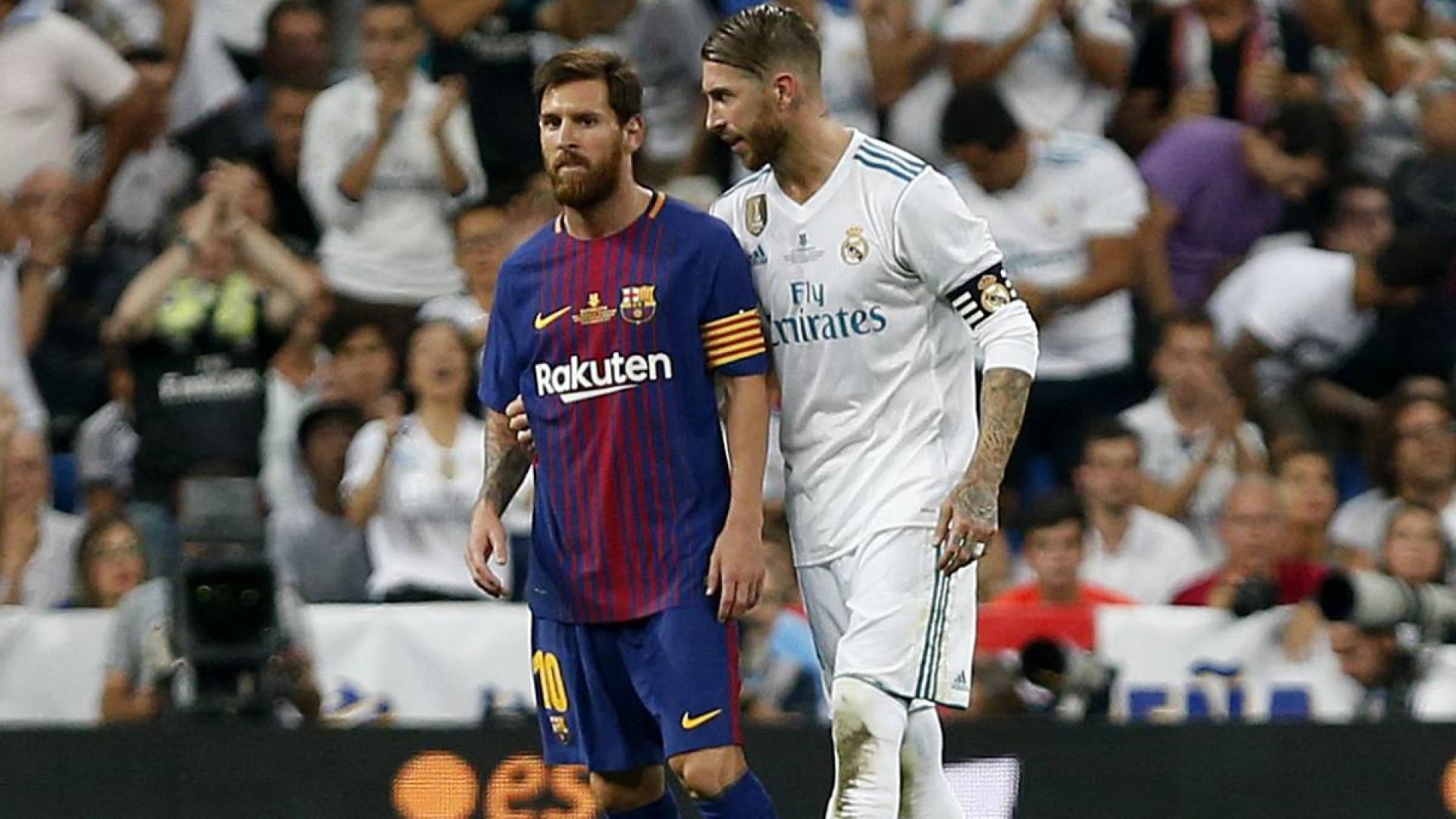 Messi et Ramos dans la tourmente