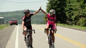 La montée en cyclisme de route