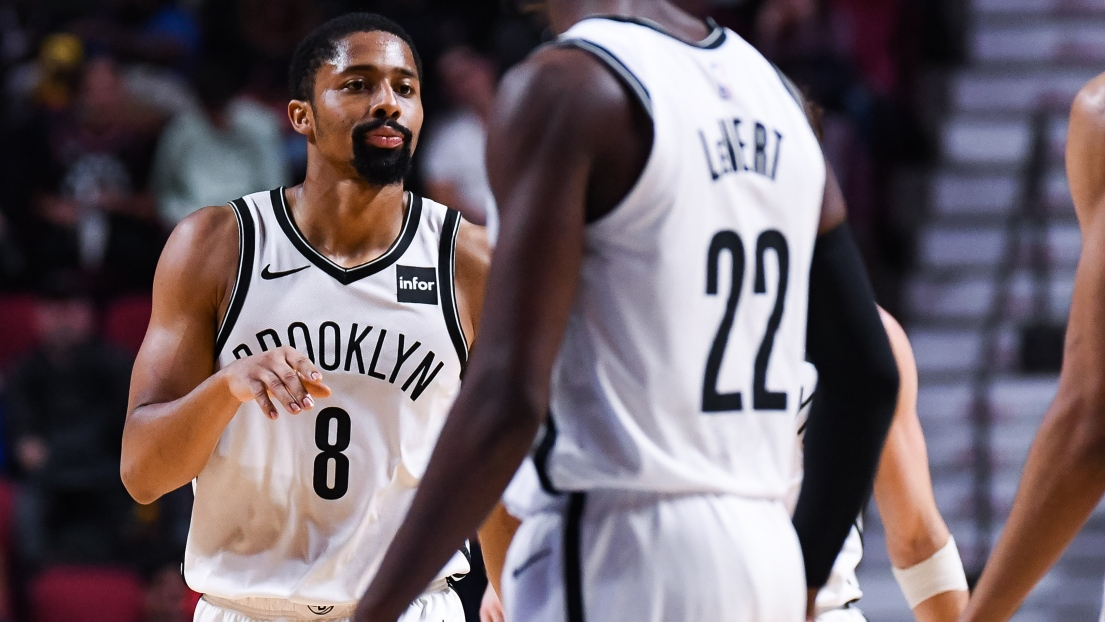 Spencer Dinwiddie des Nets de Brooklyn