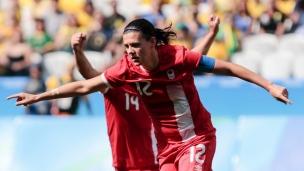 Le Canada qualifié pour la coupe du Monde féminine de soccer