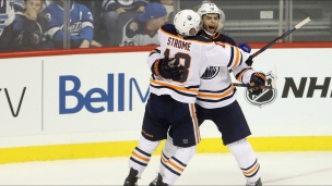 Oilers 5 - Jets 4 (Prolongation)