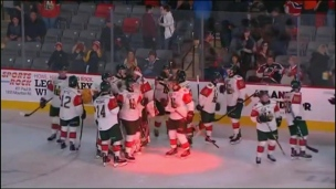 Mooseheads 5 - Wildcats 4 (Prolongation)