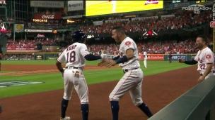 Springer et Kemp relancent le match des Astros
