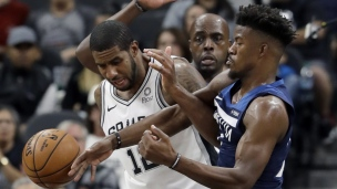 Timberwolves 108 - Spurs 112