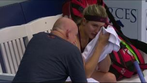 Eugenie fond en larmes, puis revient en force!