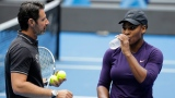 Patrick Mouratoglou et Serena Williams