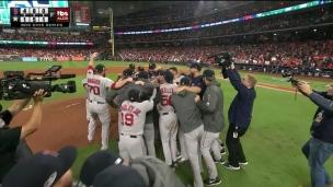 Les Red Sox s'en vont en Série mondiale!