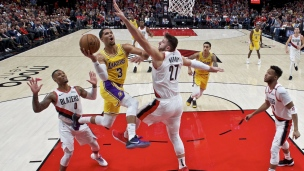 Lakers 119 - Trail Blazers 128