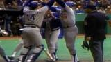 Rick Monday vient de donner l'avance aux Dodgers en 9e manche.