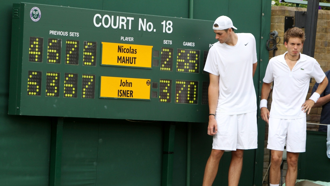 Tennis: Isner applaudit le tie-break instauré à Wimbledon