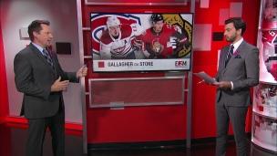 L'adversaire : Canadiens-Sénateurs