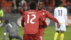 Sans surprise, le Canada écrase la Dominique