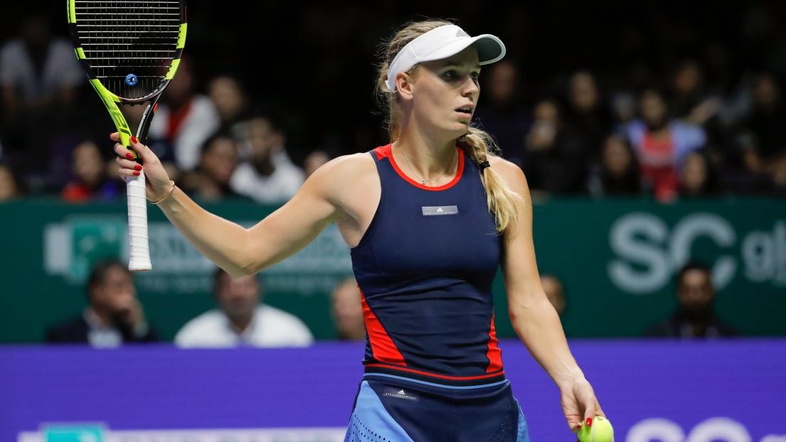 La tenante du titre Wozniacki battue — Masters WTA