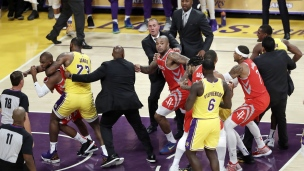 Rockets 124 - Lakers 115