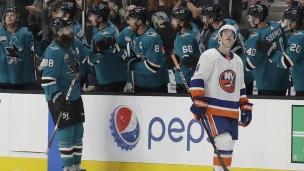 Islanders 1 - Sharks 4