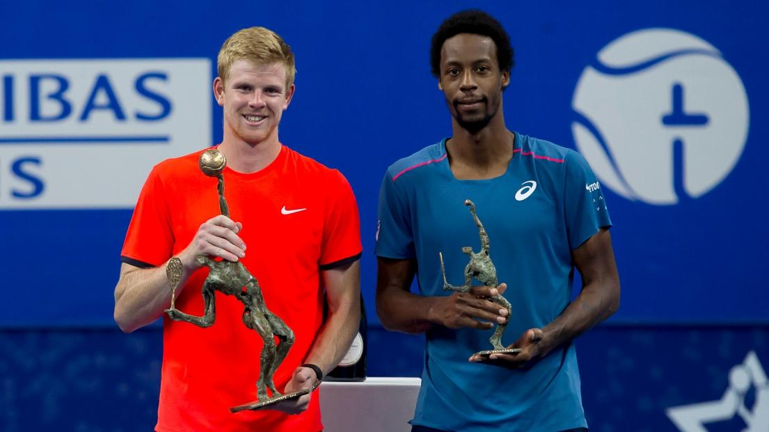 Kyle Edmund remporte le tournoi d'Anvers — ATP