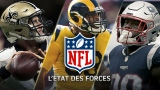 Drew Brees, Aaron Donald et James White
