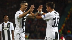 Manchester United 0 - Juventus 1