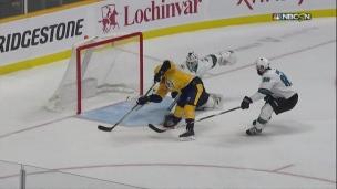 Viktor Arvidsson, trop rapide pour les Sharks!