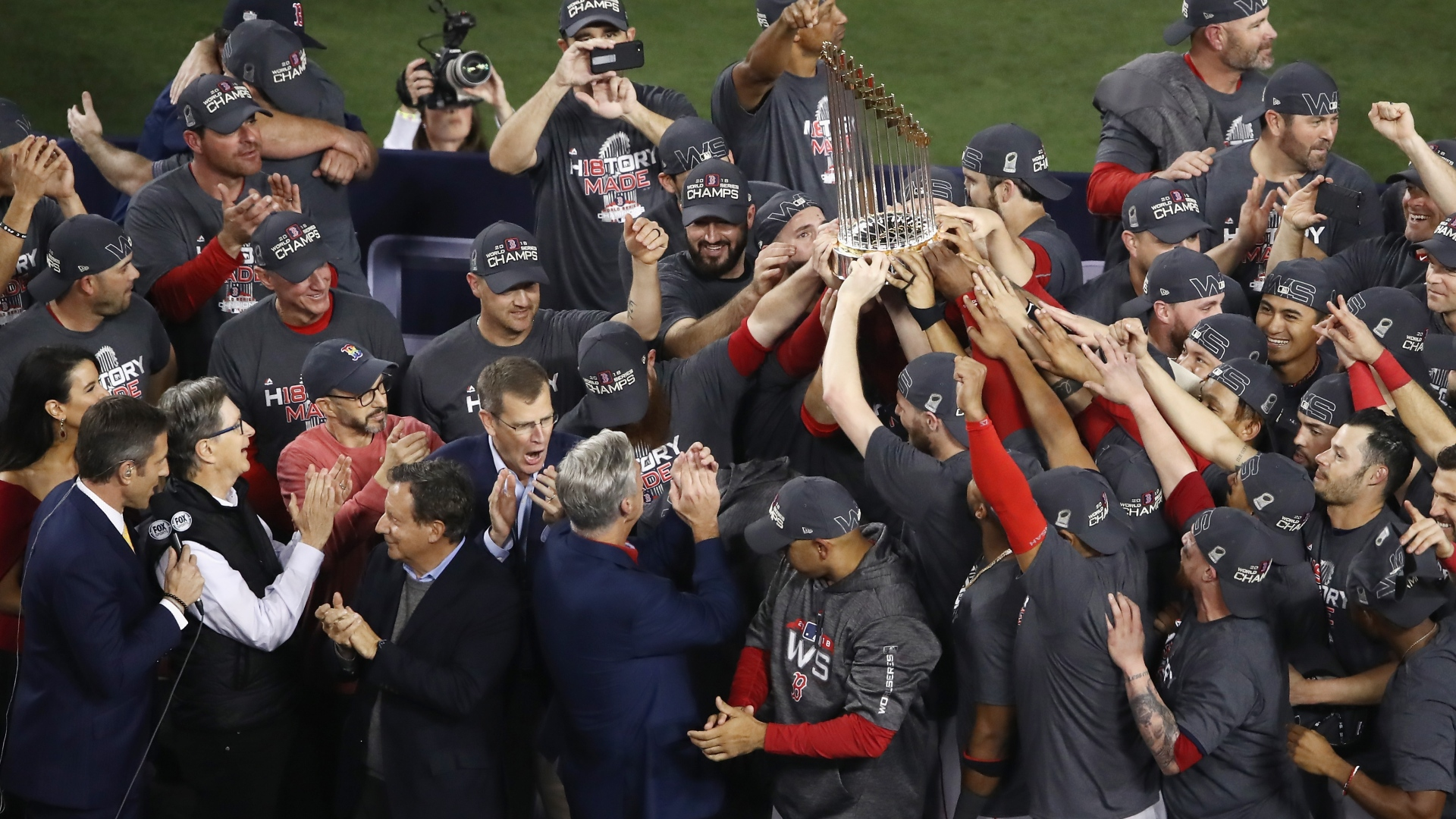 Les Red Sox de Boston sont champions de la Série mondiale