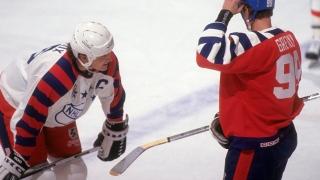 Mario Lemieux et Wayne Gretzky