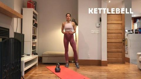 Entraînement par intervalles avec kettlebell