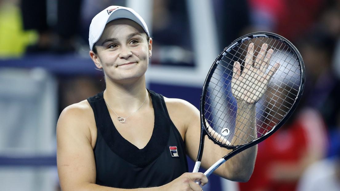 Tennis: Barty s'offre son 3e titre en battant Qiang au Master bis