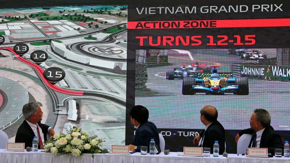 Un Grand Prix du Vietnam à Hanoï en 2020 — Officiel