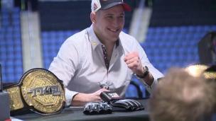 Barriault fait le saut dans l'UFC