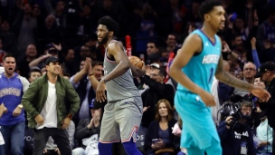 Hornets 132 - 76ers 133 (Prolongation)