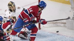Golden Knights 4 - Canadiens 5