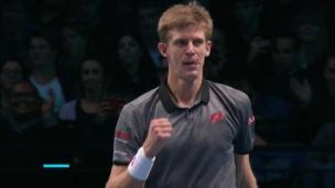 Anderson bat Thiem aux finales de l'ATP