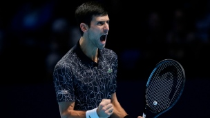 Djokovic ne rate pas son entrée à Londres