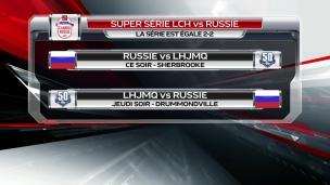 Duel LHJMQ-Russie à Sherbrooke