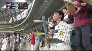Étoiles de la MLB 5 - étoiles du Japon 6