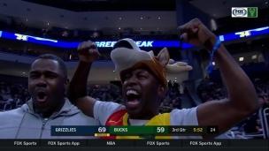 Grizzlies 116 - Bucks 113