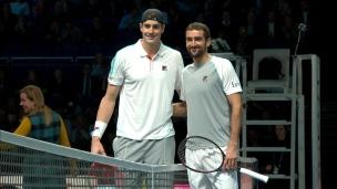 Finales ATP : Marin Cilic vs John Isner