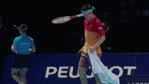 Finales ATP : Thiem frustre Nishikori (tennis)