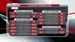 Les galas québécois des prochaines semaines