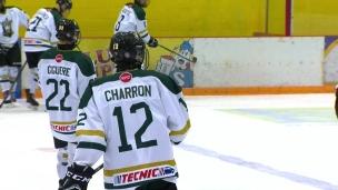 Midget AAA : Édouard Charron est de retour à la maison