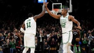 Raptors 116 - Celtics 123 (Prolongation)